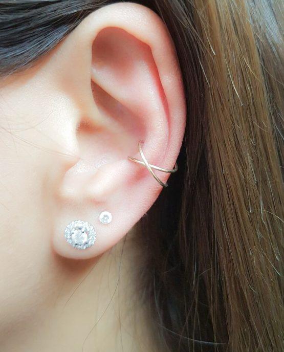 Crisscross Ear Cuff