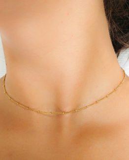 satellite necklace