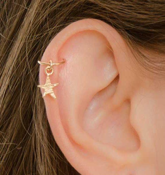 Star Helix Earring