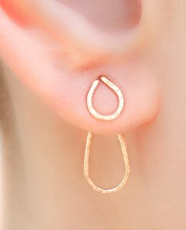 Ear Jacket Earrings