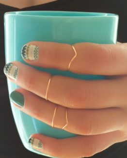 Midi Ring Set - Knuckle Ring Set