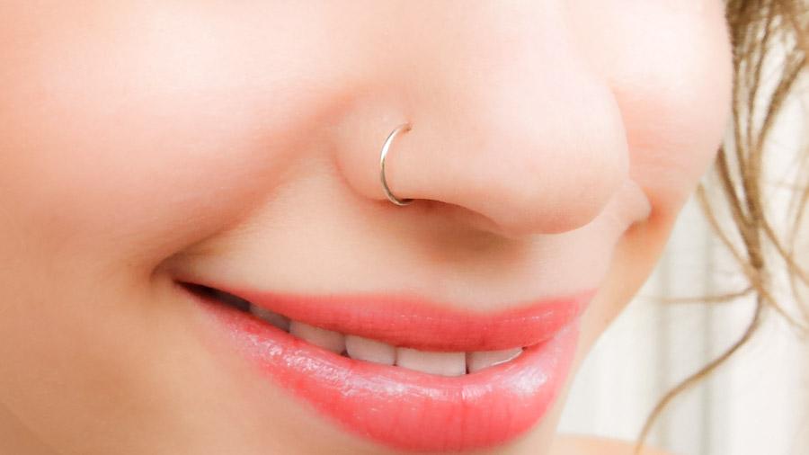 Fake Nose Ring Sterling Silver