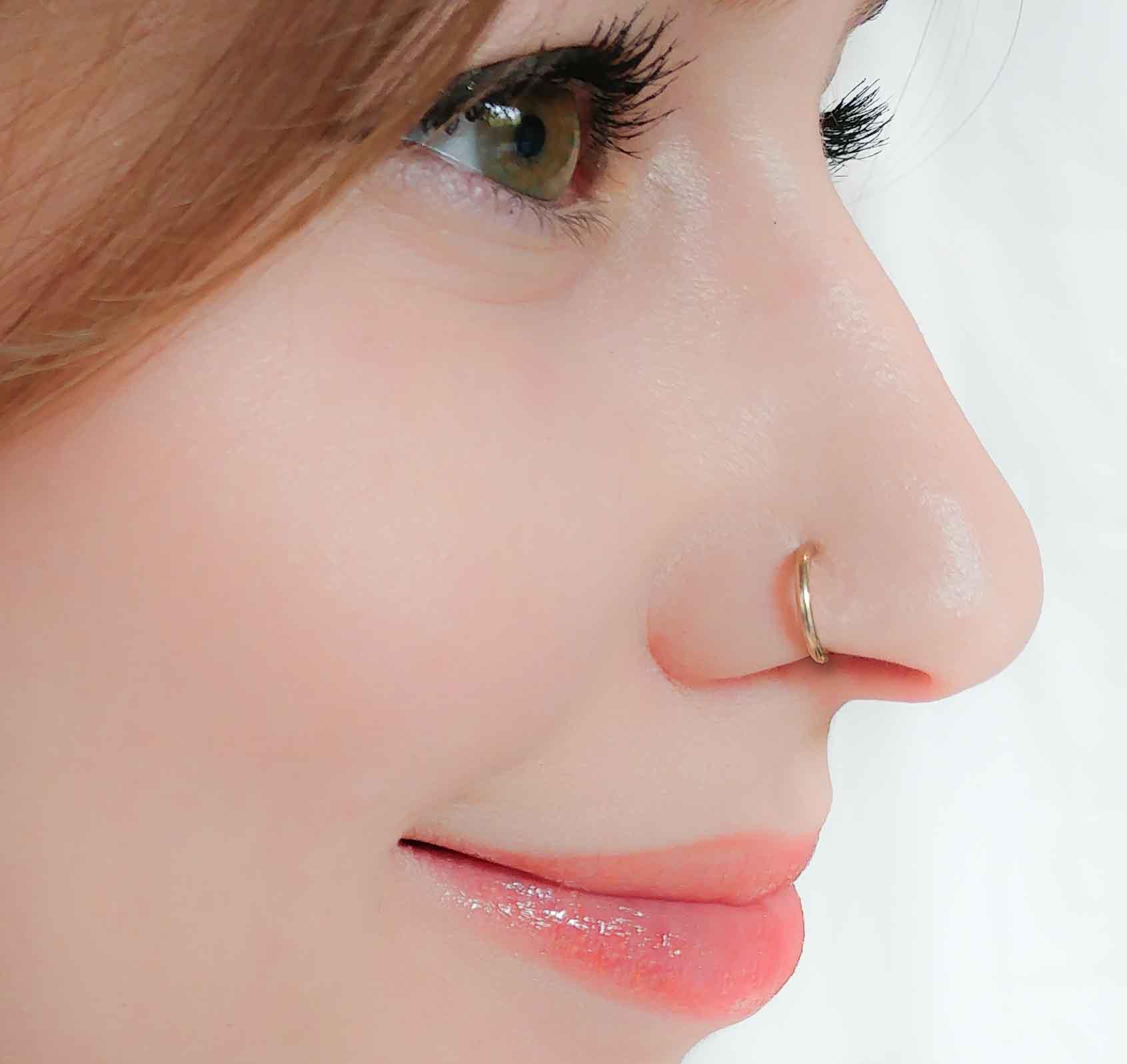 Nose Ring 16 Gauge Moonli Designs