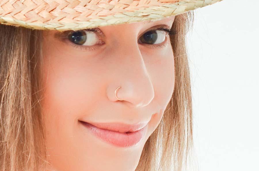 Fake Nose Ring Piercing
