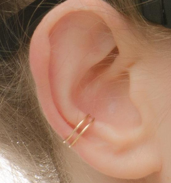 Double Ear Cuff Gold Filled
