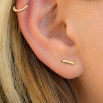 Double Piercing Earring