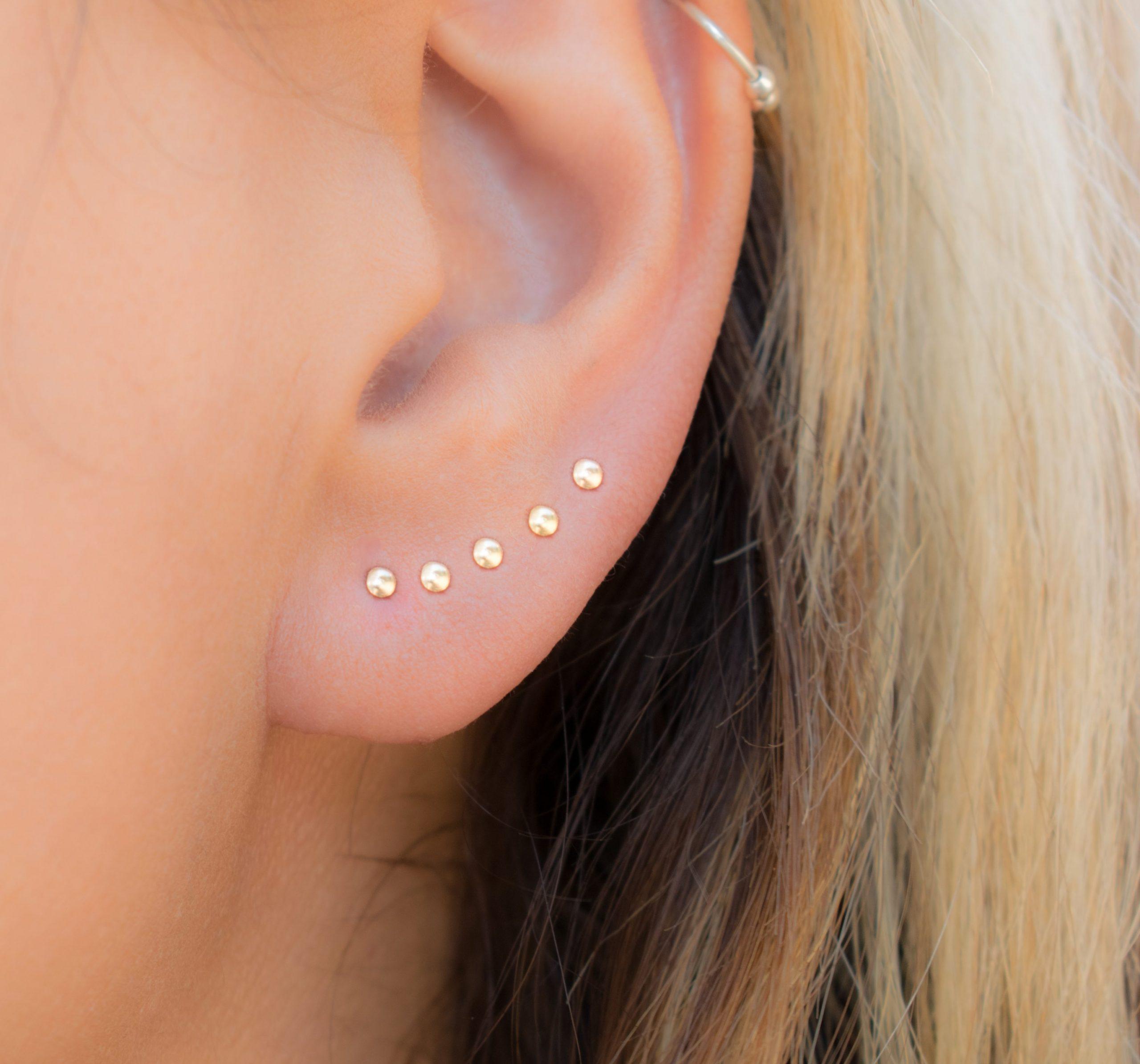 Dot Stud Earrings