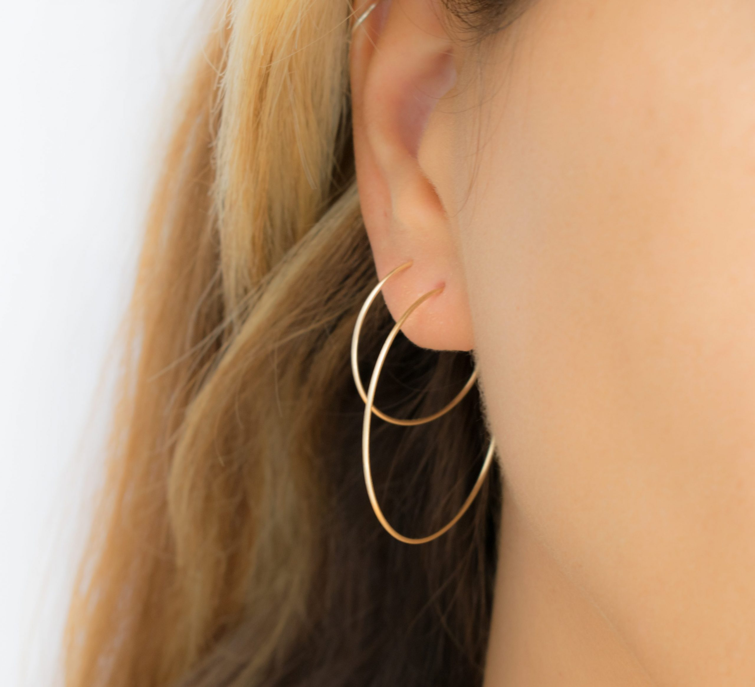 Classic Thin Hoop Earrings