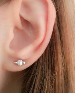 Marble Stud Earrings