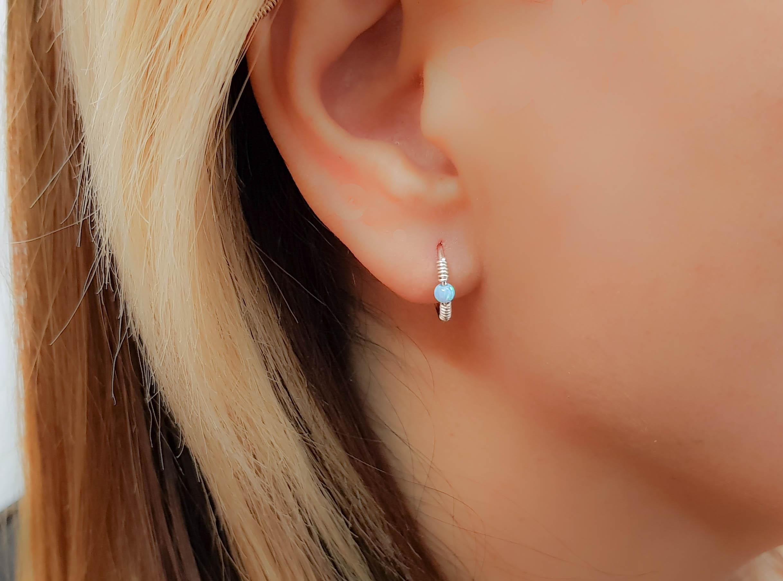 Hoop Opal