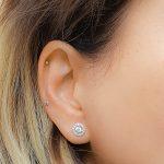 small helix stud earring