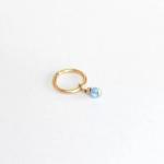 blue opal Belly piercing