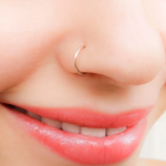 Silver Nose piercing