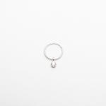 Diamond helix silver