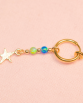 Opal belly ring