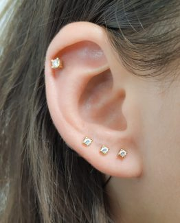 CZ Studs Earrings