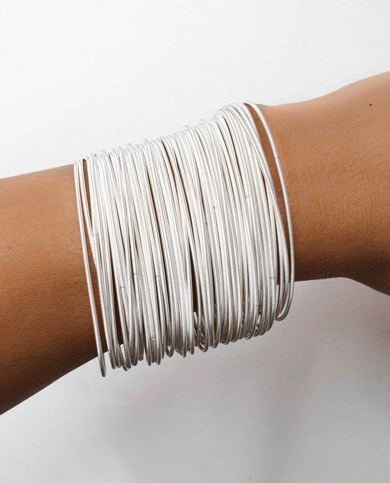 White Stainless Steel Bracelet