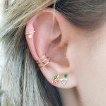 Earring Set multiple Piercings